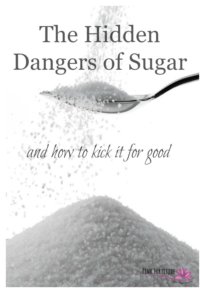 The dangers of sugar are alarming. Did you know that sugar is eight times as addictive as cocaine? The average American consumes 22 teaspoons of sugar each day, which is over 150 pounds of sugar a year, and some sources state even closer to 180 pounds. In 1800, the average person consumed the same amount of sugar in one year as we currently eat in one month. This amount of sugar consumption has resulted in nearly 70 percent of Americans becoming overweight. Kids are worse. They consume about 34 teaspoons of sugar a day. Forty percent of our youth are overweight, and one quarter is either diabetic or pre-diabetic. What are the hidden dangers of sugar? And how do you kick the sugar habit for good? The answers will surprise you.