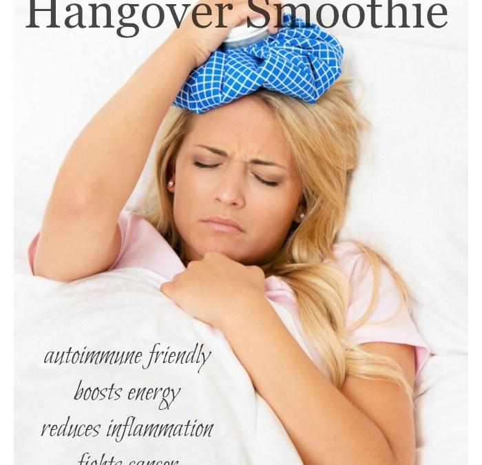 Hashimoto's Hangover Smoothie