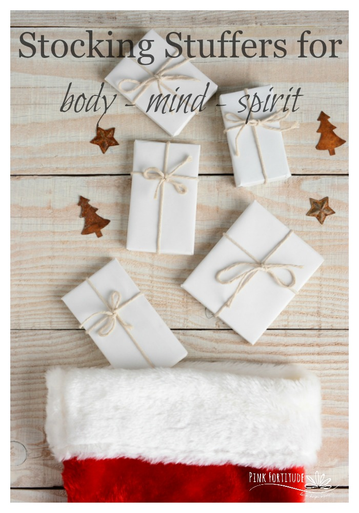 You've made your list and checked it twice. But are you procrastinating buying those stocking stuffers because you don't want to fill your stockings with the same ole boring items? In all of the holiday craziness, these last minute stocking stuffers are perfect for the body, mind, and spirit.