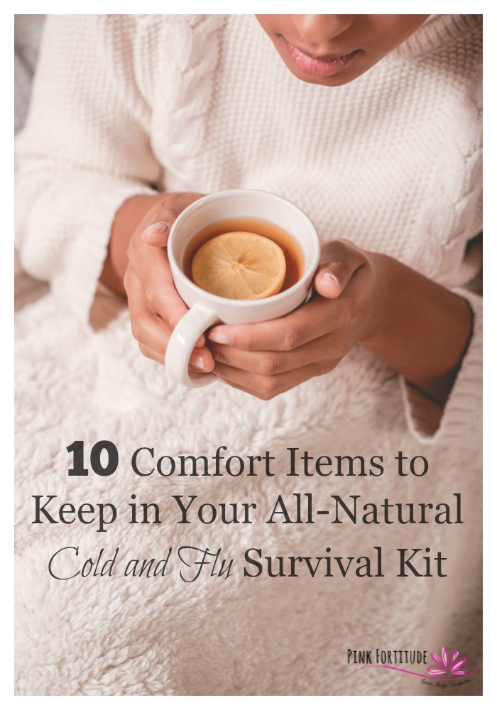 In most homes, it's not a matter of IF the cold and flu will hit, but WHEN. And when it hits, the last thing you want is to be driving around in the middle of the night in your pajamas looking for relief. Prepare now with these 10 items so that when sickness hits your home, you are ready to fight it!