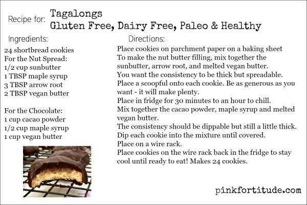tagalongs   gluten free dairy free paleo and healthy