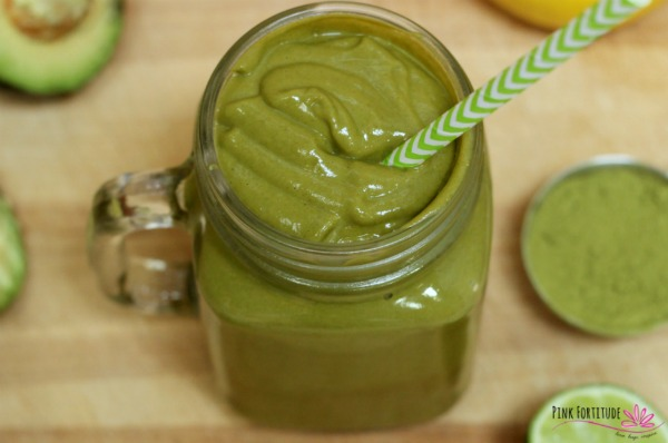 Avocado Matcha Smoothie – Fat Buster!