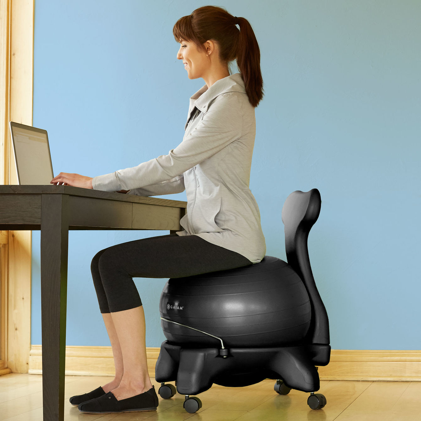 Stability Ball Vs Standing Desk: Sitting Is The New Smoking: 5 Ways To Get Fit While You