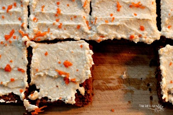 Healthy Carrot Cake – Gluten Free and Vegan