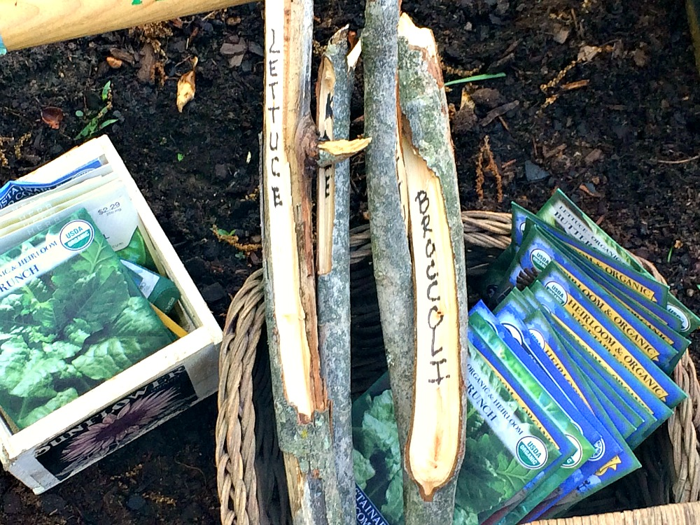 DIY Twig Garden Markers - Pink Fortitude, LLC