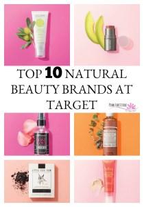 Top 10 Natural Beauty Brands at Target