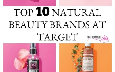 Top 10 Natural Beauty Brands at Target