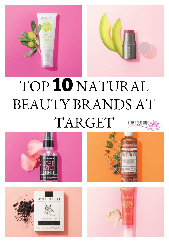 Did you know that the same place where you can pick up toilet paper and a cute sweater is also becoming the top store for all-natural beauty? Target is making a name for itself by carrying some great lines of natural beauty brands and organic skin care products. Hello affordable all-natural beauty! These are the top 10 brands to look out for.