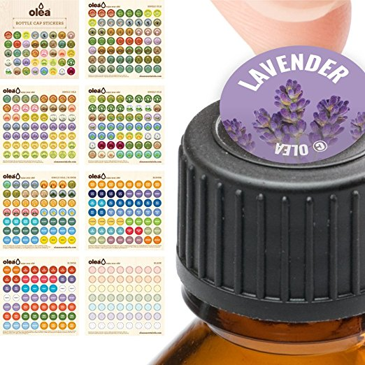 Labels for doTerra Bottle Caps