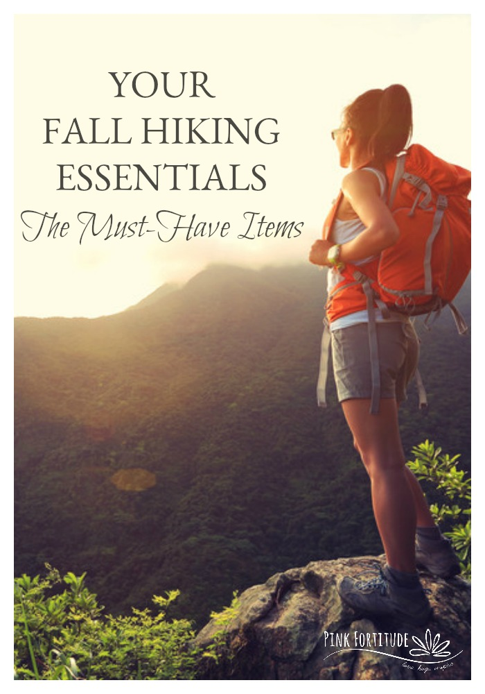 The air is crisp, the leaves are changing colors, and it's time to grab your boots and go hiking!  These are your top essentials to take on your next hike to ensure you are not only prepared but also look stylish too...