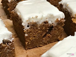 Pumpkin Bars – Gluten Free and Vegan