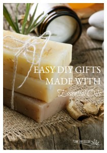 Easy DIY Gifts Made with Essential Oils