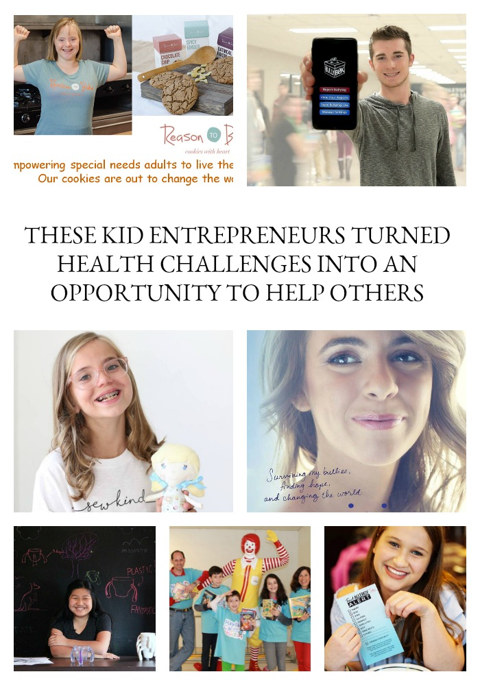 We've all had bad days and know how challenging they can be. For those of us with health challenges, every day can be rough, and those bad days become even more difficult. Well, put your pity pants aside and check out what these kid entrepreneurs have accomplished. Not only do these kidtrepreneurs have their own health challenges, but instead of becoming victims, they took their health challenges and turned them into an opportunity to help others. Get emotionally prepared to be inspired!
