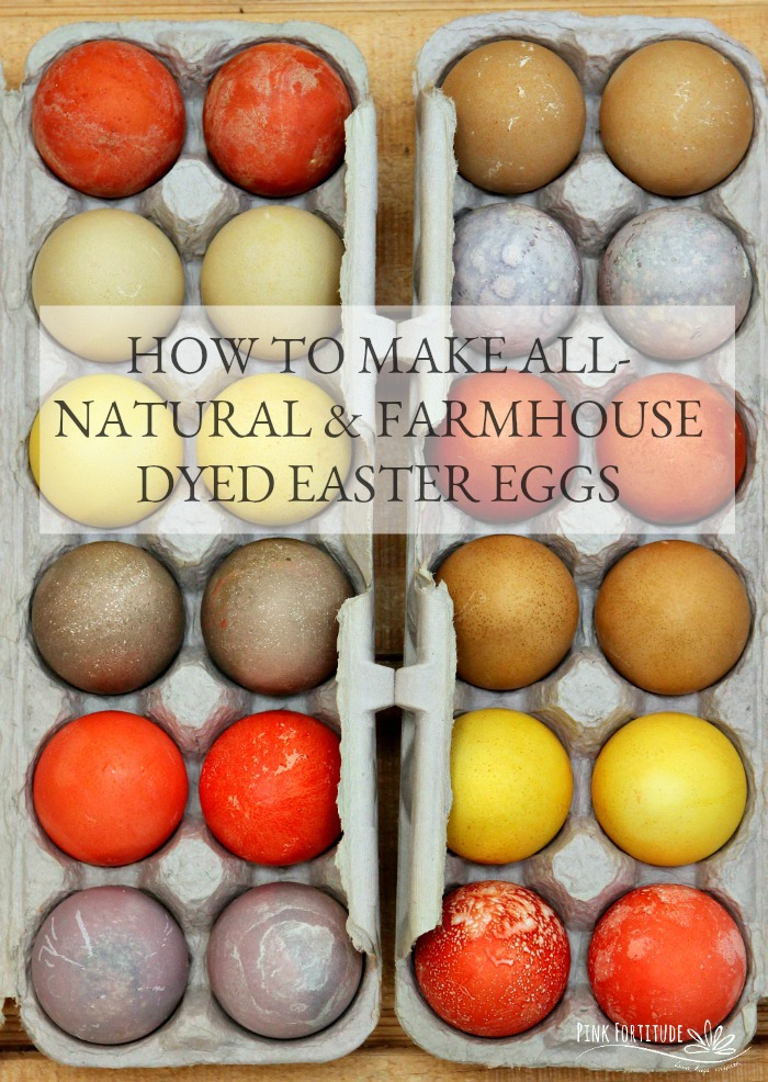 Whether you are into the farmhouse look or want a more natural way to dye your Easter eggs (especially if you are eating them), this is an easy to follow how-to.