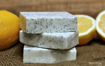 Lemon Poppy Seed Soap DIY