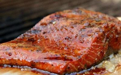 Perfect Hickory Grilled Salmon