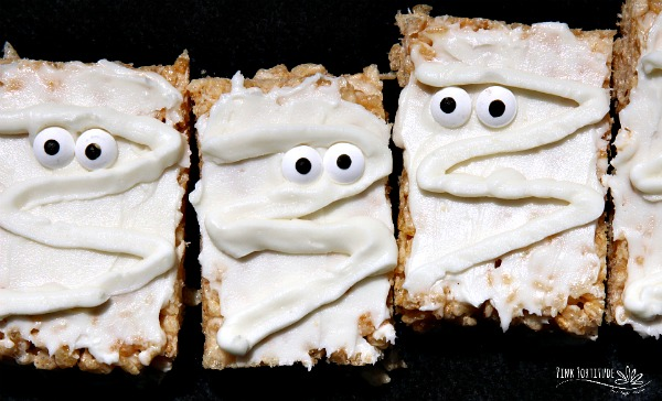 Mummy Rice Krispies Treats – Gluten Free and Vegan