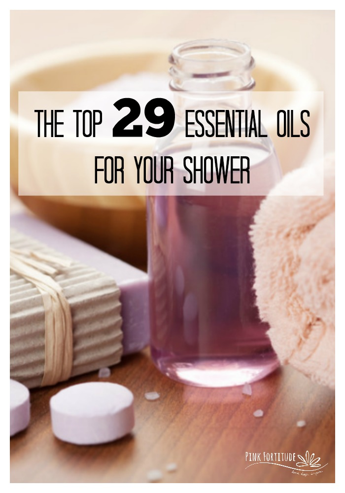 Who else loves using Essential Oils in your shower? But how do you know which oils to use? And for what purposes? Which ones wake you up or help you to fall asleep? Which ones are good for hormonal support or when you are sick? We've identified 7 different shower scenarios and the top 29 Essential Oils for your shower. Which one are you going to use first? #essentialoils #pinkfortitude