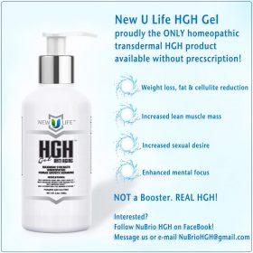 Non-Prescription Homeopathic HGH Gel