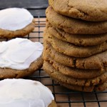 Pumpkin spice should have its own month. You know... one month of celebrating all things pumpkin spice. Like these pumpkin spice cookies. They are gluten free, dairy free, egg free, and vegan. Top them with some vegan icing and HELLO! It's autumn. Doing a happy dance in your mouth. Get the recipe... #pumpkin #pumpkinspice #recipe #glutenfree #vegan #pinkfortitude