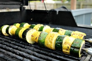 Zucchini and Squash Kabobs on the Grill – Paleo and Keto