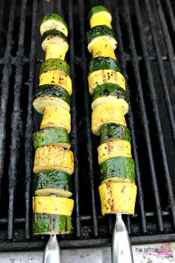 You know the dish. The one that takes just a few minutes to make, is crazy healthy, and is one of your family's favorite? The one you are almost too embarrassed to gloat about because it's that easy? Yup. These zucchini and squash kabobs are easy to make, you can throw them on the grill, and they are also paleo and keto-approved. Be sure to make extra for leftovers. Add this recipe to your zucchini favorites!