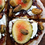 This fig and goat cheese appetizer pizza is one of those dishes that looks fancy but is super easy to make. It's perfect for a summer harvest party, holiday or Christmas party, or any time you want to impress your guests. It's also gluten and grain free. Get the recipe... #glutenfree #pinkfortitude