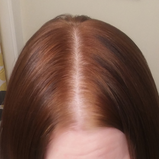 Finished - Darkened - How to Henna your Hair