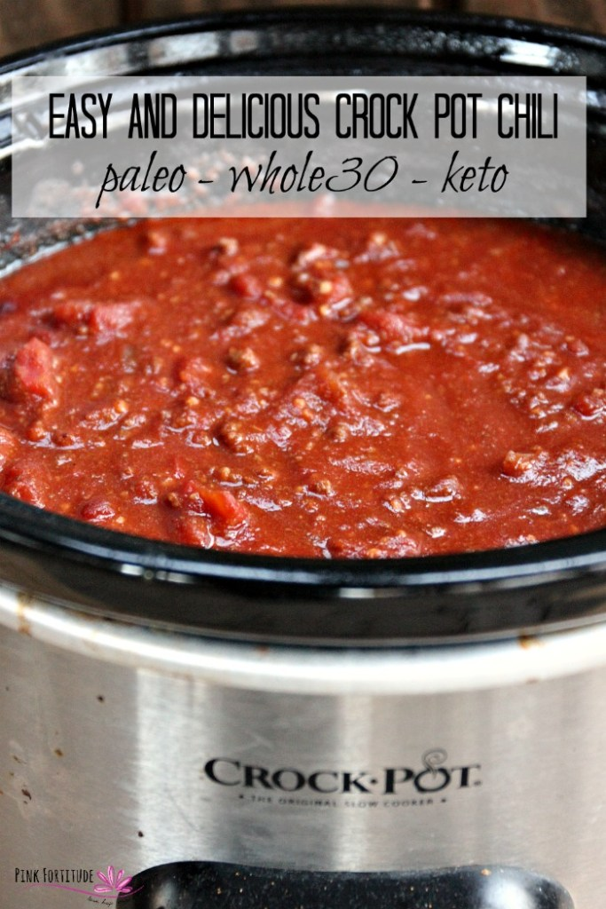Cold winter days, having your friends over for game day, or a party-pleaser recipe to feed a crowd. Chili is always the go-to vat of comfort food. This chili recipe is delicious, super simple to make in your crock pot or slow cooker, and follows the Paleo, Whole30, and Keto protocols. Fall in love with this nutritious and healthy comfort food!