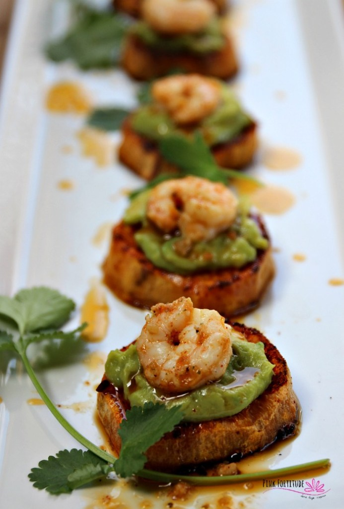 Are you looking for a new appetizer, a fun recipe for Cinco de Mayo, or some nosh that's easy to make and super special to serve a crowd? These sweet potato bites with avocado and shrimp are a delicious southwestern Tex-Mex style appetizer that is guaranteed to please everyone. They are Paleo, Whole30, dairy-free and gluten-free. The flavor combination may sound a bit bizarre, but trust me, it's going to be one of the best apps you've ever tasted. Get the recipe...