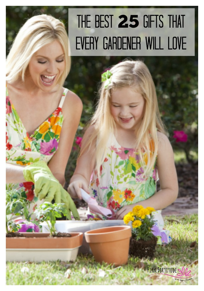 If you or your dearest love to garden, I've curated the best 25 gifts that every gardener will love. Whether it's the holidays, Mother's Day, a birthday or another special occasion... if Mom, Grandma, Sister, Aunt, Friend, or Teacher loves to garden, this gift guide has the most functional and unique gifts to give and for everyone's budget, style, and interests. Trust me. They will thank you.