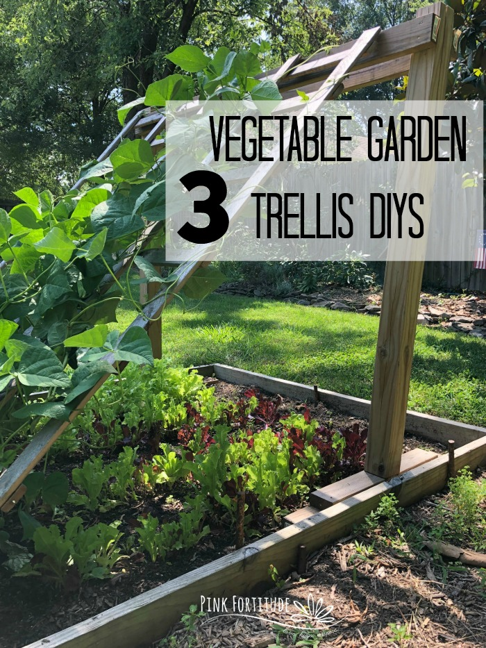 I was sick of our veggies rotting on the ground and after hours of scouring the internet without a solution, we decided to build our own structures. This is the before and after and behind the scenes of the 3 vegetable garden trellis DIYs that now proudly help our veggies grow to peak harvest! Here's how you can make these vegetable garden trellises too!