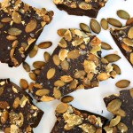 I'm a Pennsylvania girl so that sweet-salty thing is genetically embedded in me. This time of year, it's pumpkin spice everything, but let's not forget the seeds. And pumpkin seeds together with chocolate - be still my beating heart! This Chocolate Pumpkin Seed Bark is made with just 3 ingredients and it's Paleo, gluten-free, and vegan. It's the perfect snack for those crisp autumn days or any day of the year! Get the recipe...