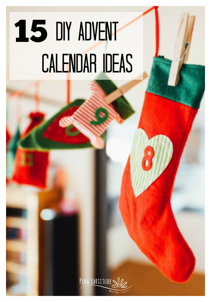 Are you looking for some unique and creative ways to countdown to Advent? Be sure to check out these 15 DIY Advent calendar ideas. Some are even great upcycles! Which one is your favorite?