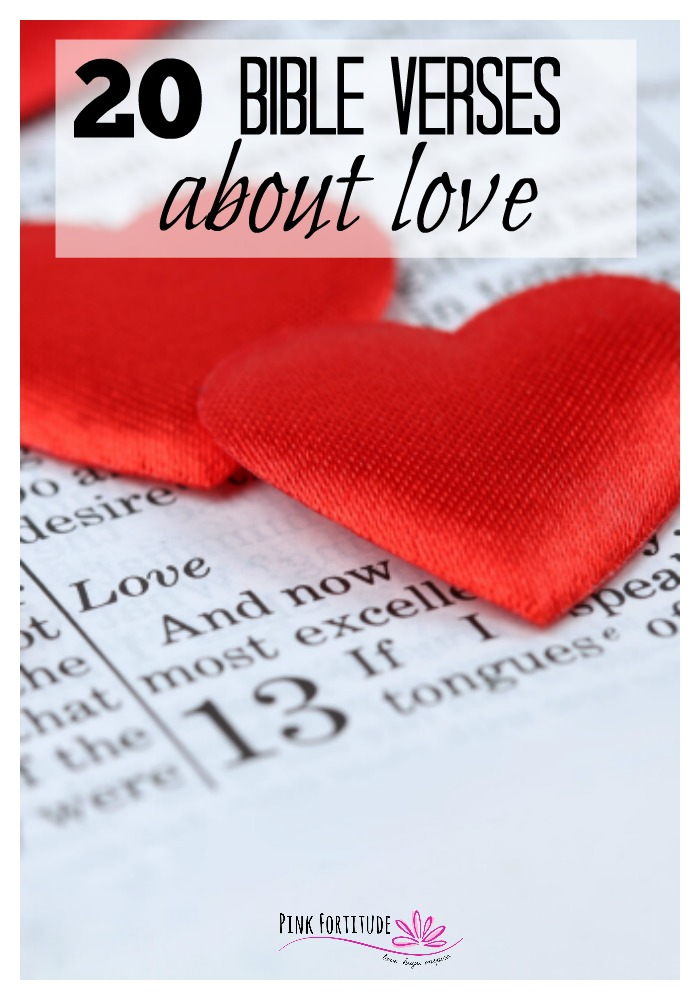 The greatest of these is love. These Bible verses are shared in both the Old Testament and the New Testament. Here are 20 scriptures about love that you can meditate on, and share your love a little more today.
