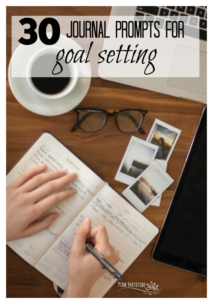 Everyone thinks about goals for the New Year or New Year New You. But goal setting shouldn't be just one time a year. It's something we should do daily, weekly, monthly, and quarterly. Here are 30 (bullet or regular) journal prompts for goal setting and planning to get you started.
