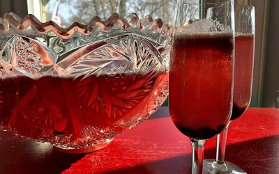 Sparkling Cranberry Punch – Lightened Up