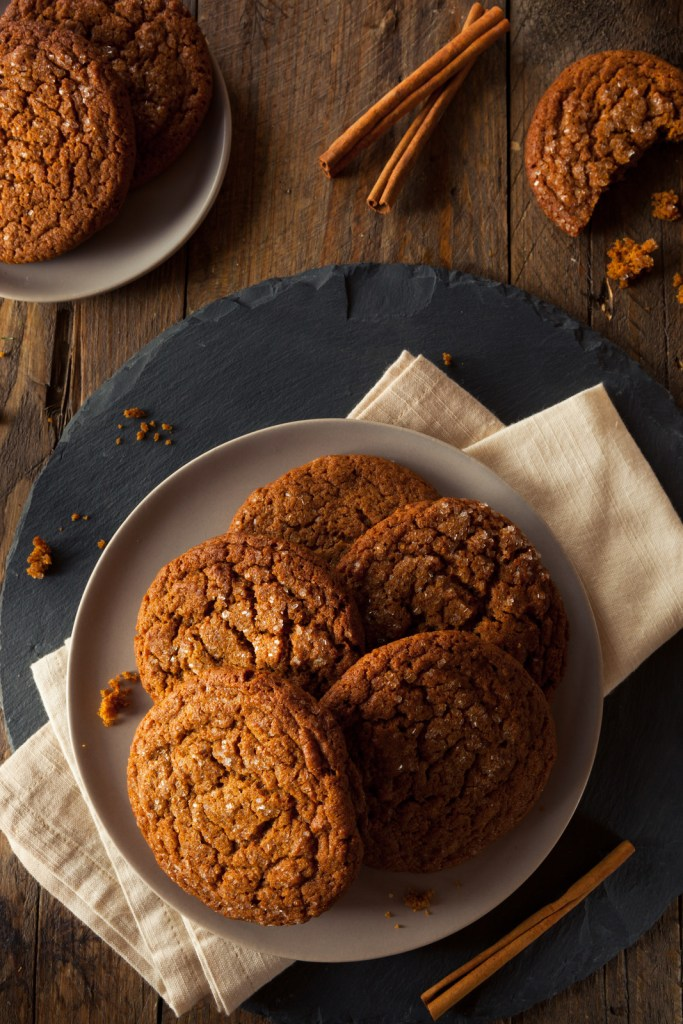 These soft and chewy gingersnap cookies need no introduction. They are gluten free, grain free, dairy free, egg free, and vegan and you will never know the difference. I've also included your swaps to make them Paleo. They have that perfect combination of the crustier exterior with the soft and chewy inside. It's gingersnap perfection!