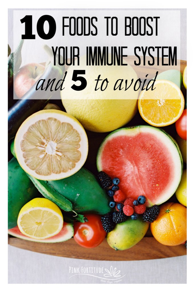 Finding the right foods to boost your immune system can be a little overwhelming due to the fact that there are so many claims being made all over the internet as to what can help. But there is no need to feel defeated because today I'm sharing the top 10 foods to boost your immunity. Oh and PS - 5 foods to avoid. It's time to get your immune system in tip-top shape.