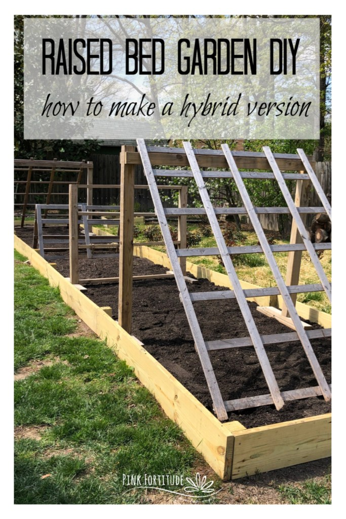 In just a few hours, we ripped up the old frame and built a new raised bed garden. It's actually more of a built-in and raised bed hybrid. But it gives the vegetables plenty of space for the roots to be happy and flourish. If you ever wondered how to build a raised bed garden, this is your DIY!