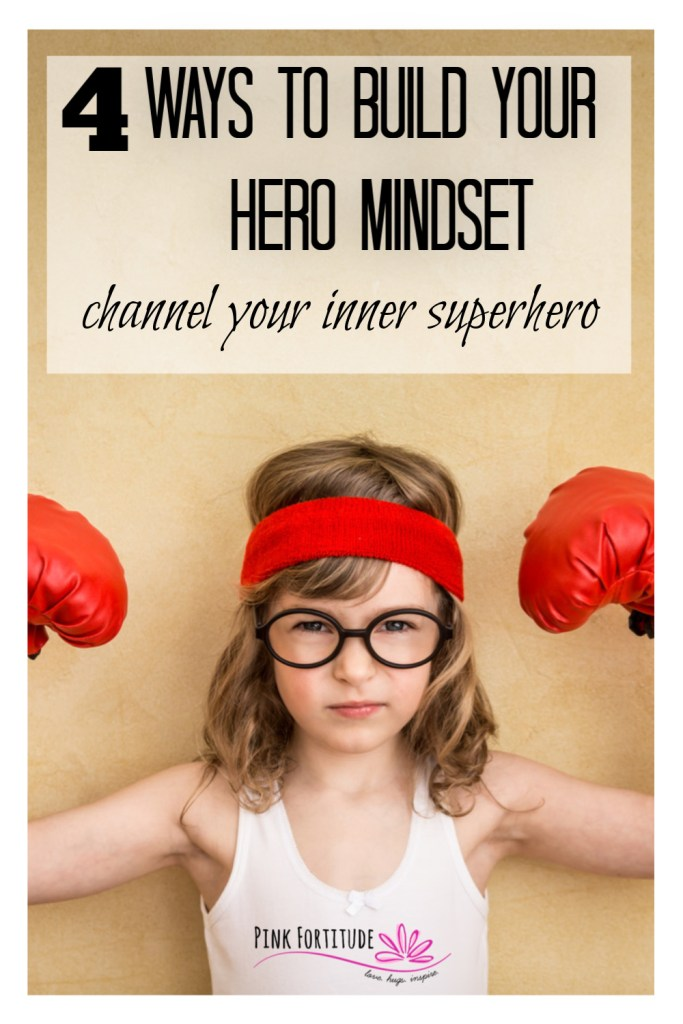 "The hero mindset. What separates the ""hero"" from the rest of us? How do you rise above the challenges in life? How do you live a life of purpose? How do you channel your inner superhero? These 4 elements of the hero mindset will help you to grab your cape and make a difference in someone else's life."