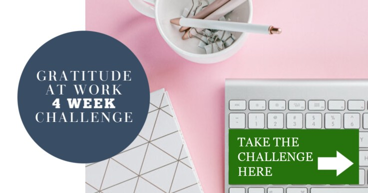 Join the Gratitude at Work 4 Week Challenge! Embark on a one month journey where your team will learn the benefits of gratitude, along with the steps to implement gratitude practices at work.The daily challenges are designed for in-person or virtual group interaction to help inspire, reduce stress, and become more mindful during your workday. Learn more and join today!