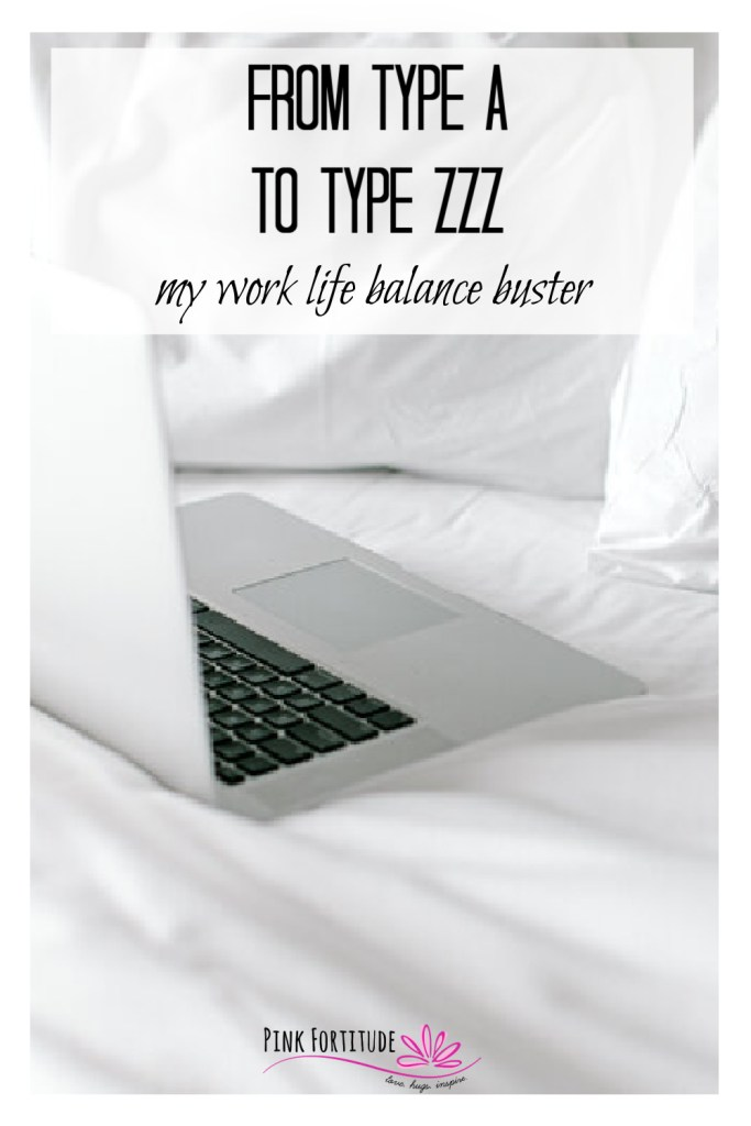 As part of my series on busting the work-life balance myth, I wanted to share my own story of how I went from being that overachieving Type A girl to what I like to call Type ZZZ. It took several health crises, a chronic illness, and hitting rock bottom not once but twice to get there. This is the story of my own work-life balance buster.