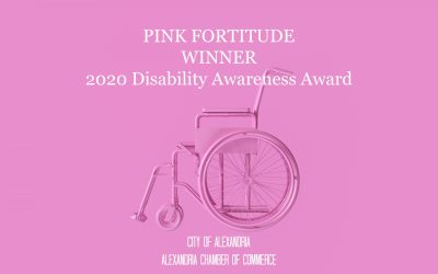 Pink Fortitude Receives 2020 Disability Awareness Award
