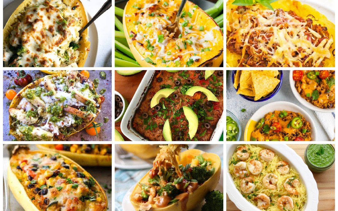 25 Spaghetti Squash Dinner Recipes