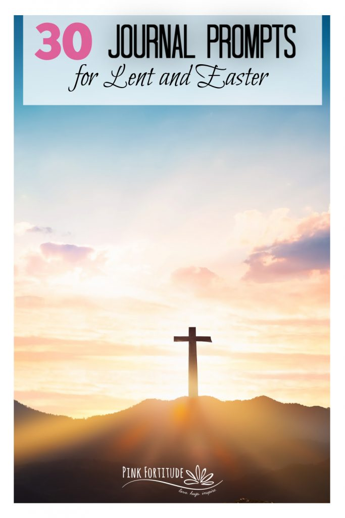 These are 30 journal and writing prompts for Easter and Lent plus a FREE printable that will help you to explore your faith and the meaning of the Easter season. Get out your bullet journal or regular journal and let's focus on the death and resurrection of Jesus Christ! And get your kids and the whole family involved too!
