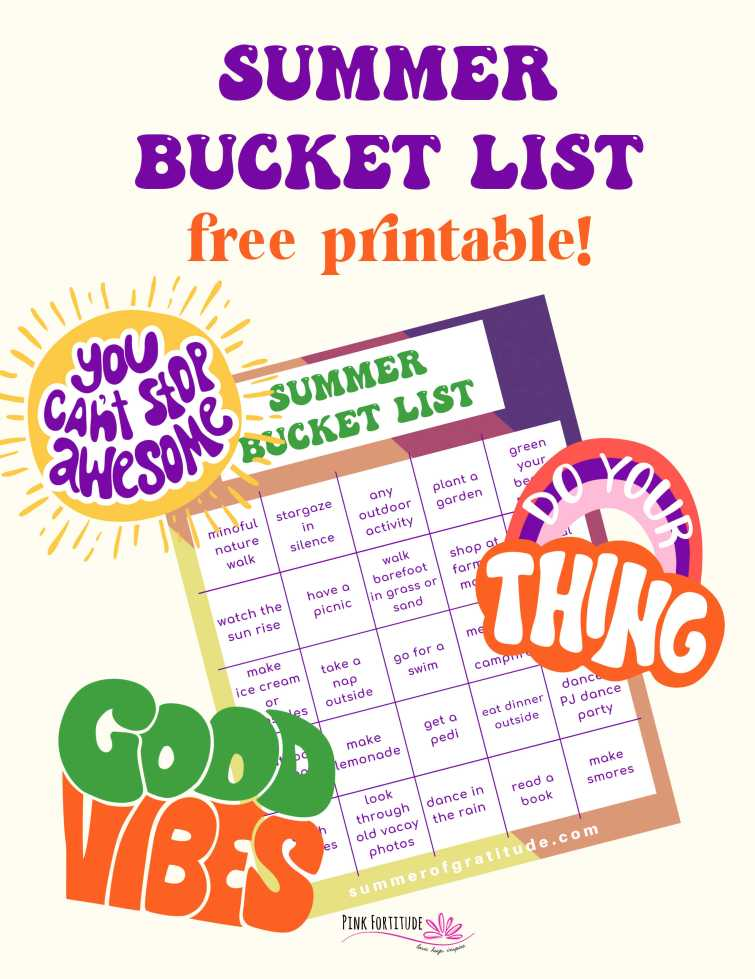 If you are like most people with autoimmune disease or chronic illness, chances are you are looking at everyone having fun this summer and wondering how you can fit some fun in between pain and fatigue and all of the annoying symptoms. Here's your Summer Bucket List for a more mindful and fun summer, especially if you have health challenges. Plus a FREE printable to download!
