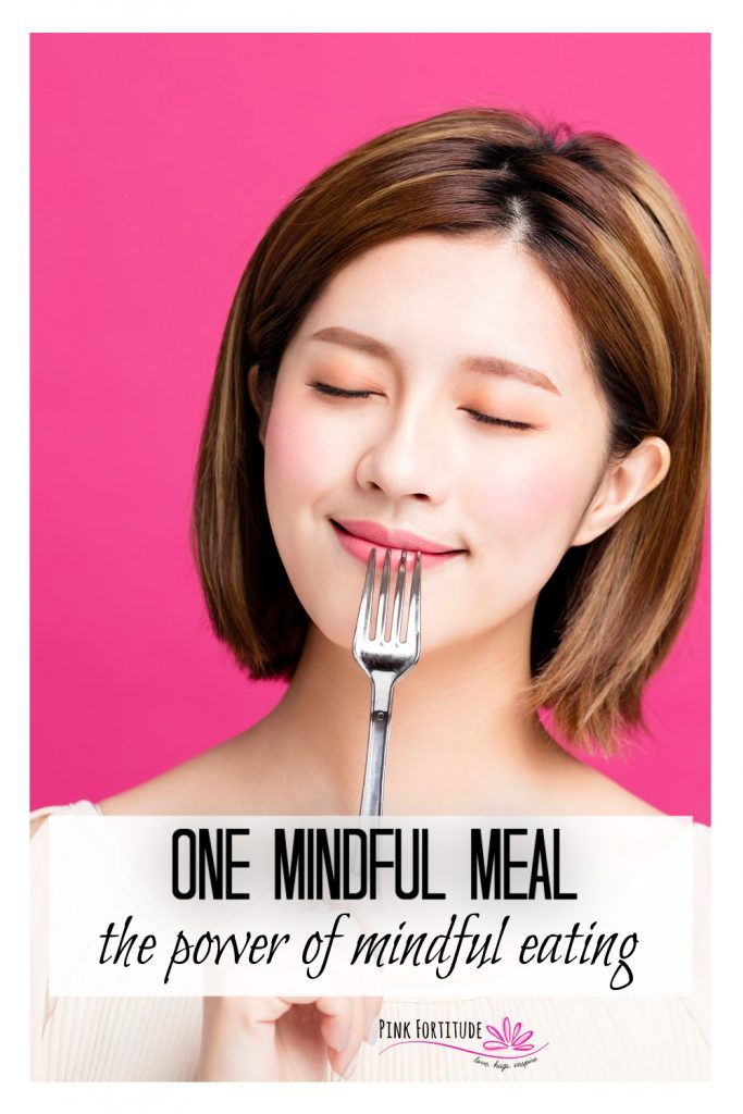 We all have such busy lifestyles and eating on the go is no exception. Enter one mindful meal. It's a way to incorporate mindful eating for one meal a day. I'll share about the power of mindful eating and why it's so important, along with how to make one mindful meal a part of your weekly routine. Learn how!