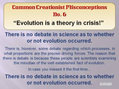 Evolution is a theory in crisis!