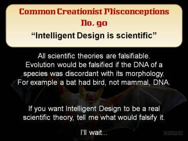 Intelligent Design is scientific